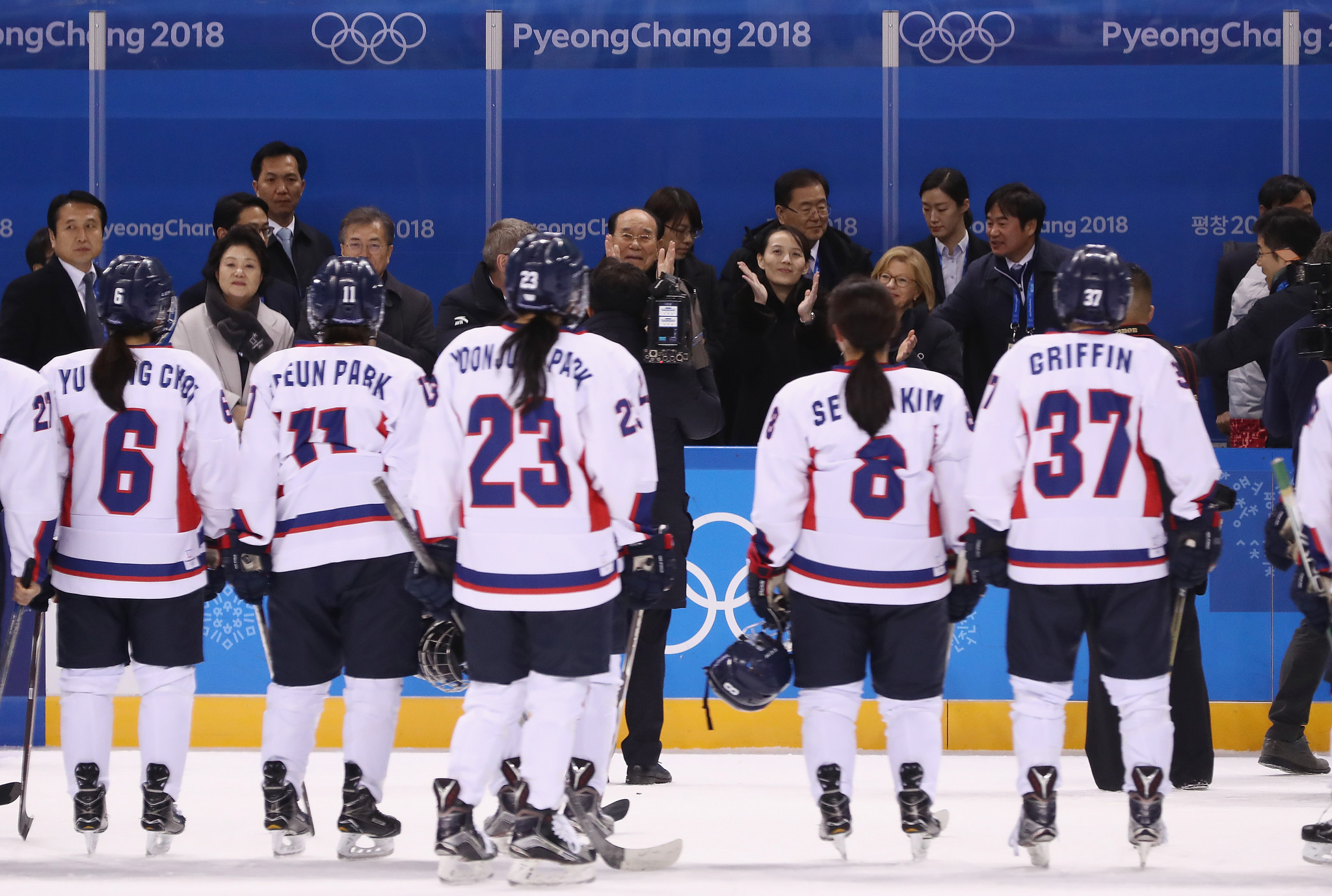 Olympic Channel to produce film on unified Korean women's ice hockey team