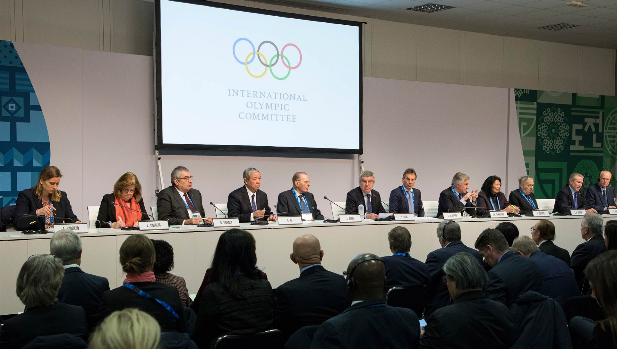 Implementation Group chair admits report changed so clear Russian Olympic Committee not responsible for Pyeongchang 2018 doping cases