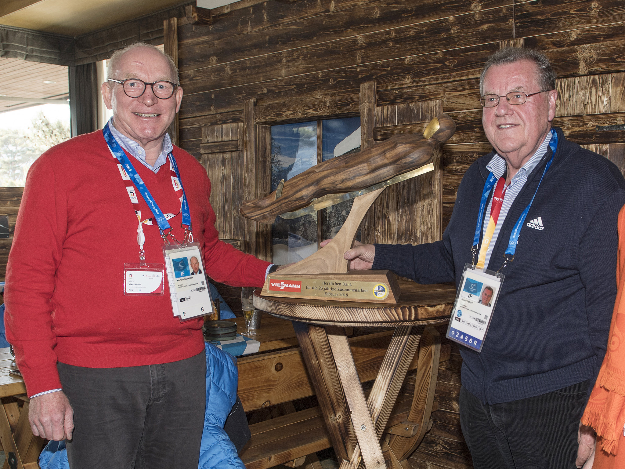 International Luge Federation marks 25-year anniversary of Viessmann partnership at Pyeongchang 2018