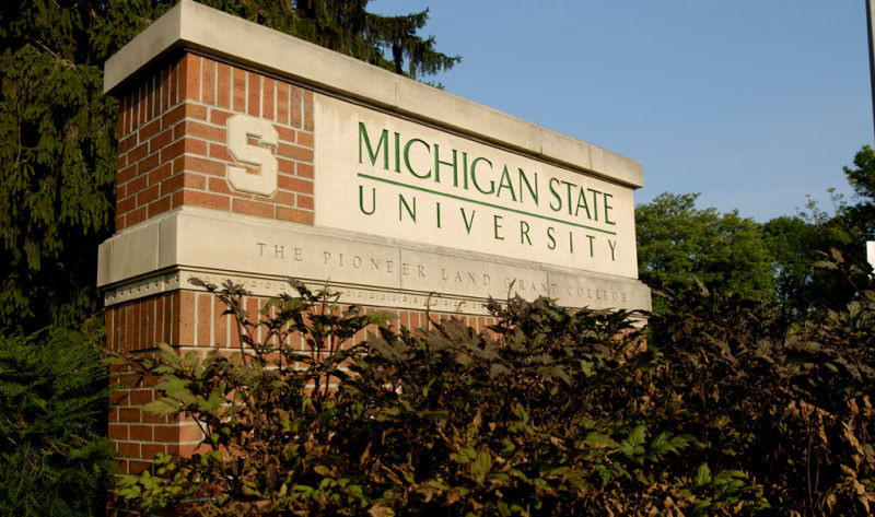 Michigan State University are being investigated for their handling of the USA Gymnastics sexual abuse scandal ©Michigan State University