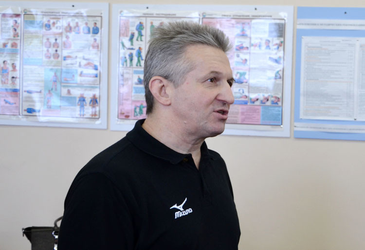 The training session was led by FIAS executive director Sergey Tabakov ©FIAS