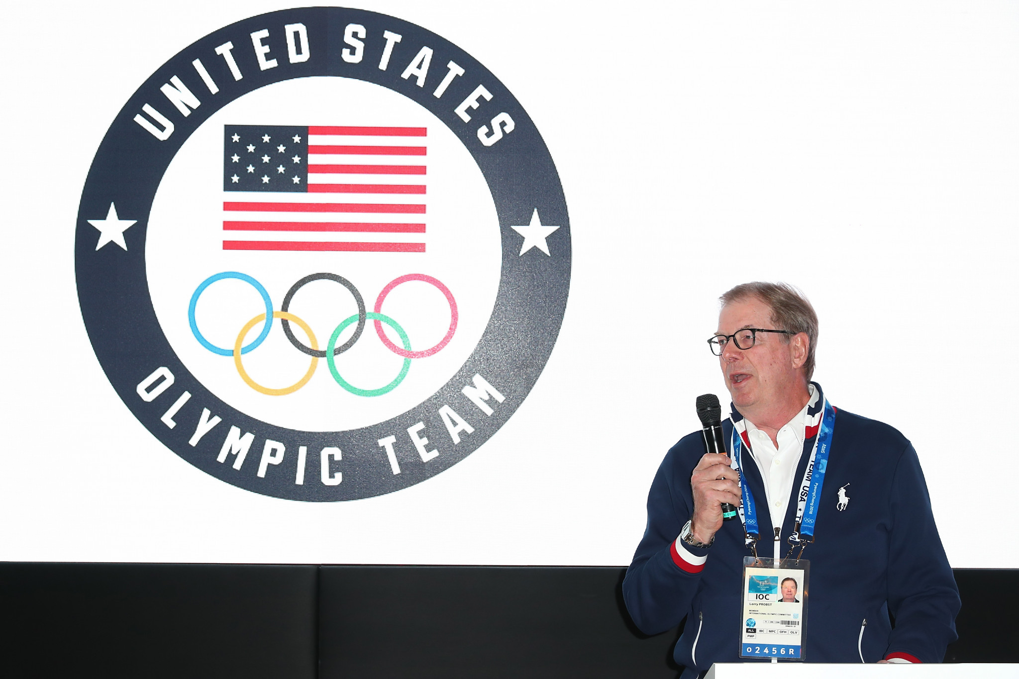 USOC chairman Larry Probst stated it was in the best interest for new leadership to be identified ©Getty Images