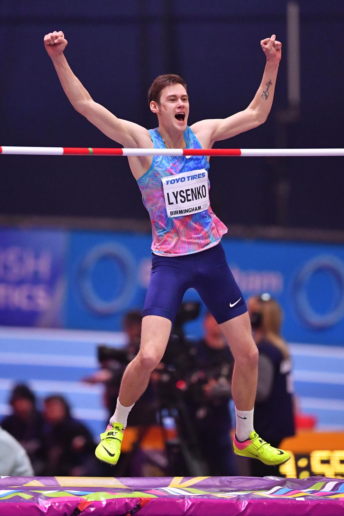 Lysenko turns tables on Barshim to win IAAF World Indoor Championships high jump gold