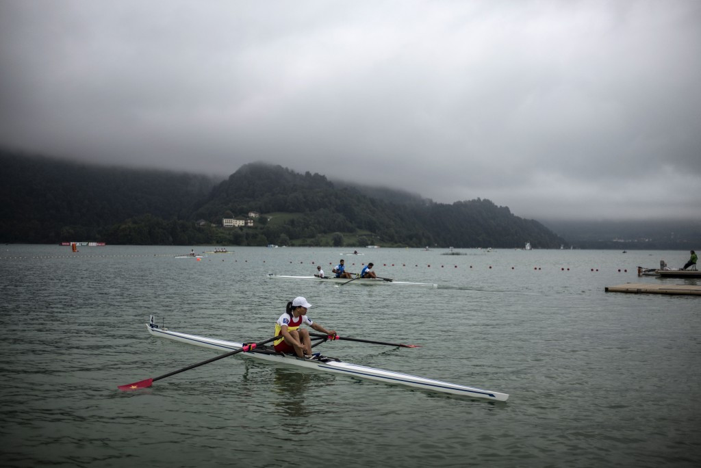 Rio 2016 places were up for grabs on Lake Aiguebelette
