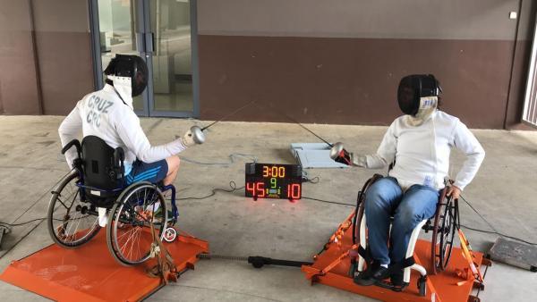 Wheelchair fencing development scheme launched in Costa Rica