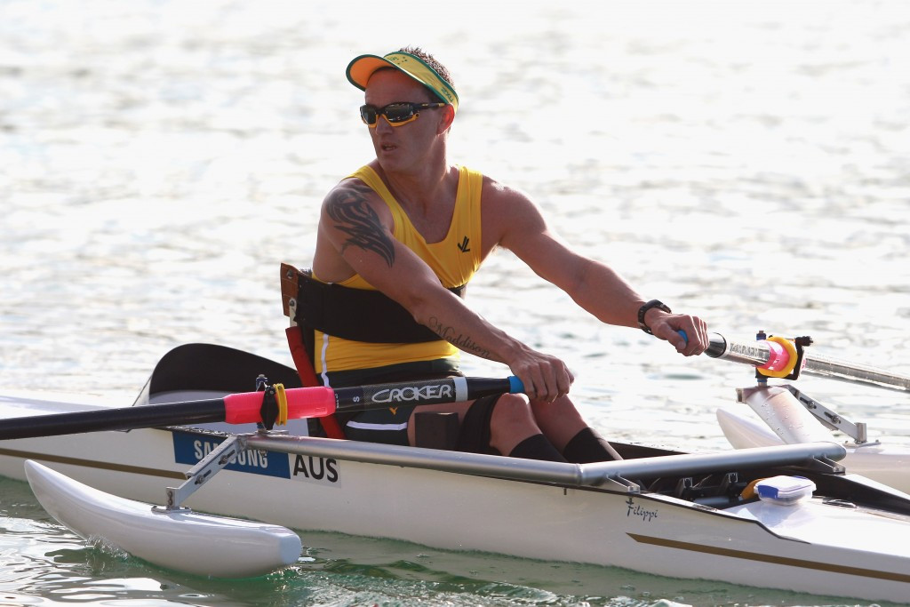 Horrie earns hat-trick of men's single sculls titles at World Para Rowing Championships in Aiguebelette