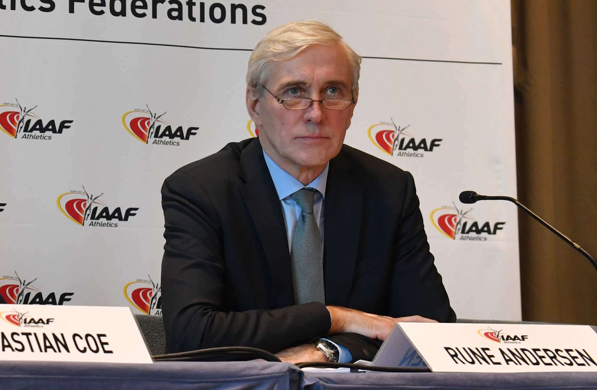 Rune Andersen stated the IAAF should consider further measures against RusAF should progress towards reinstatement not be made ©Getty Images