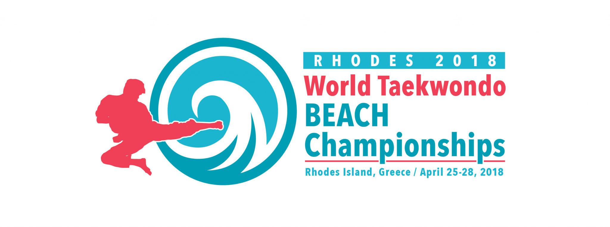 Organisers of the World Taekwondo Beach Championships have unveiled the logo and venue ©World Taekwondo
