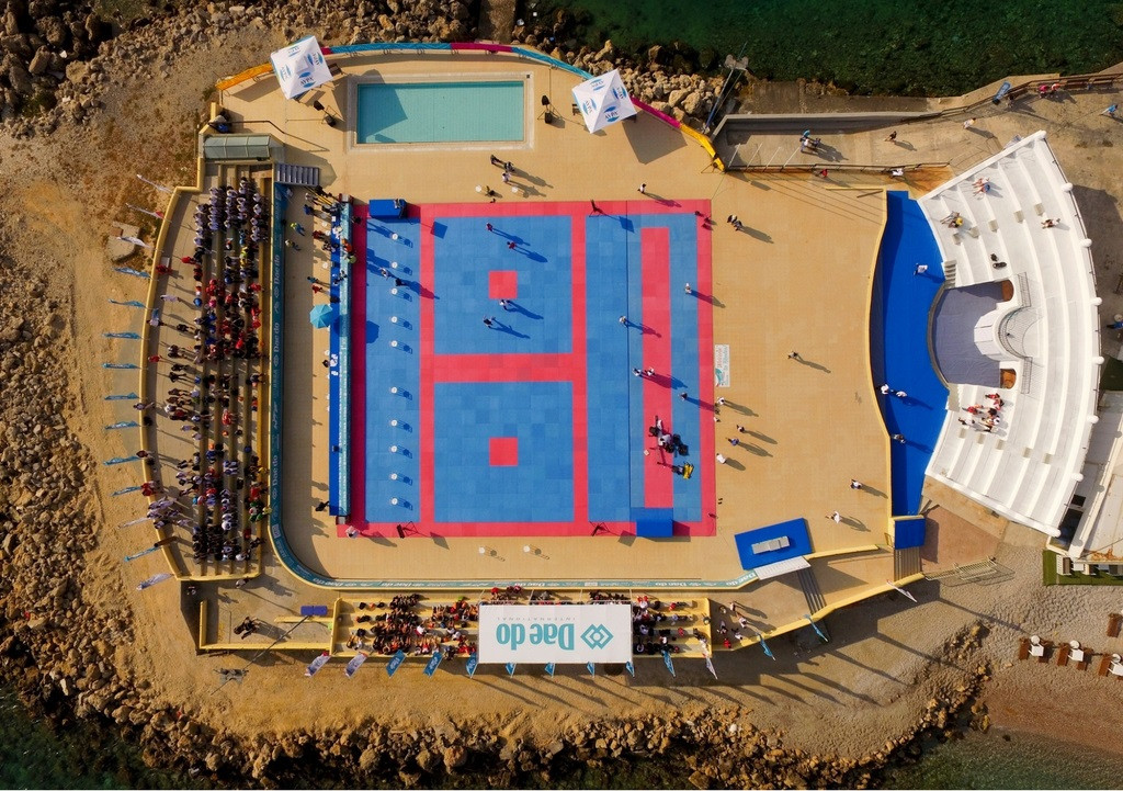 The Nautical Club of Rhodes has been confirmed as the venue for next month's event ©World Taekwondo