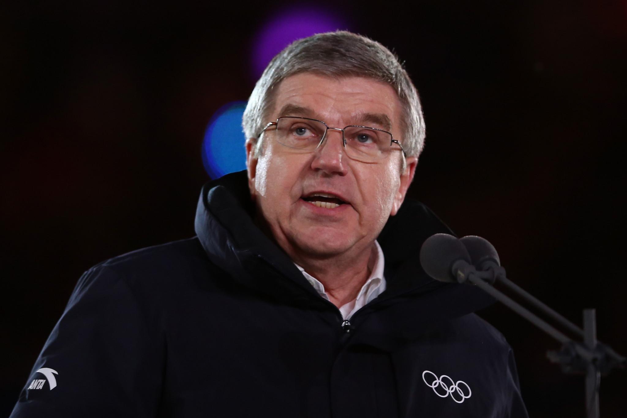 South Korea to honour Bach with prestigious award following Pyeongchang 2018 Olympics