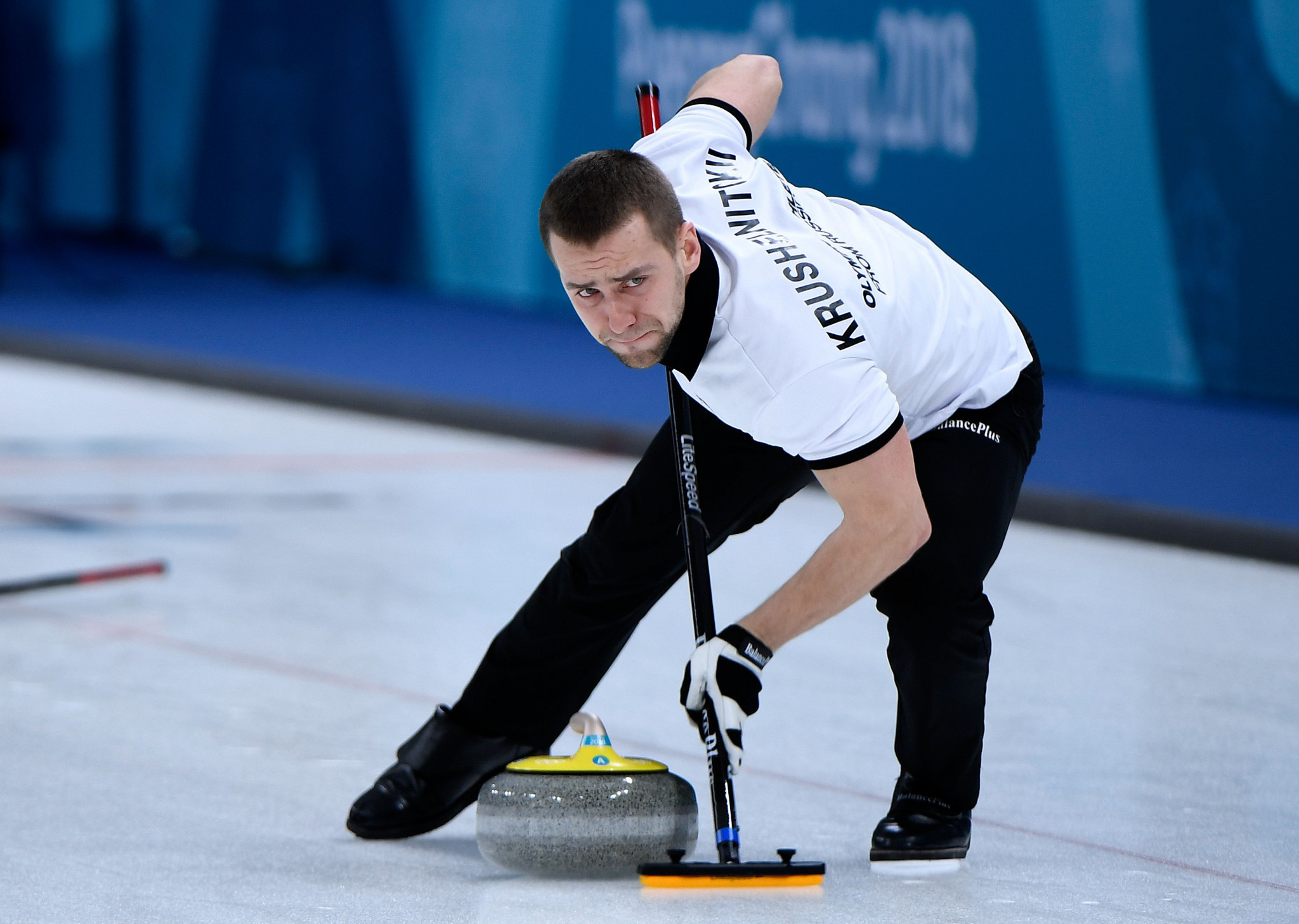 OAR curler Aleksandr Krushelnitckii was one of four athletes to test positive at Pyeongchang 2018 ©Getty Images