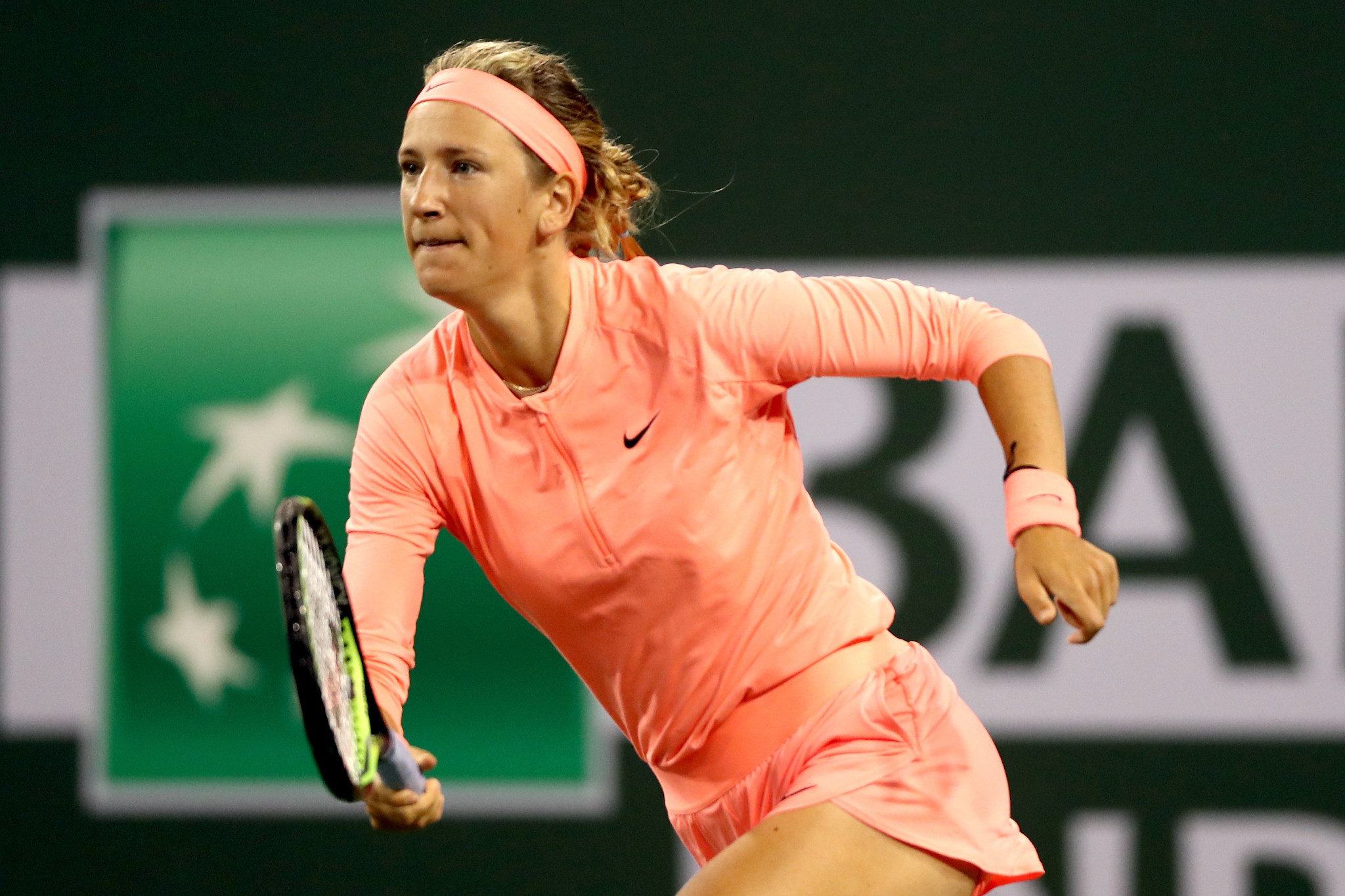 Victoria Azarenka also made a winning return to competition ©Getty Images